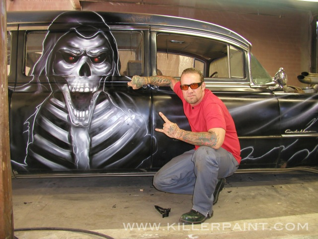 Jesse James and the Gravedigger Hearse