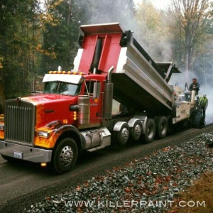 Dump Truck with True Fire™ Paint Job by Mike Lavallee of Killer Paint