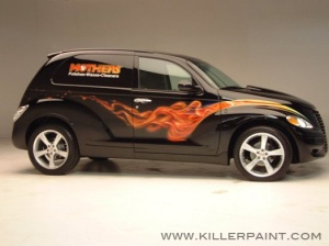 Mothers Wax PT Cruiser Painted by Mike Lavallee of Killer Paint